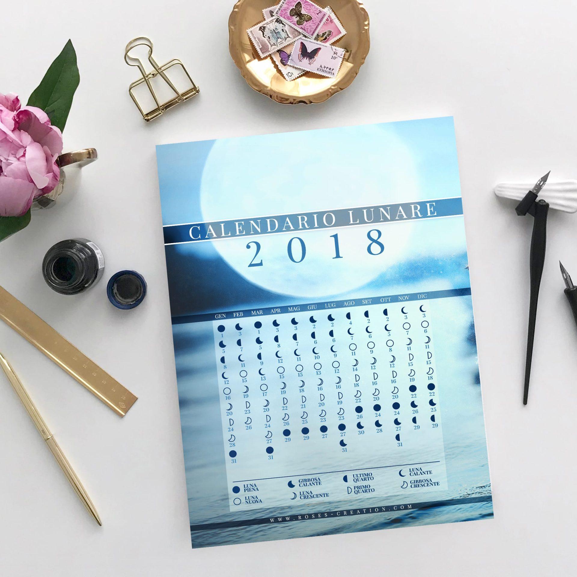 CalendarioLunare2018 In regalo