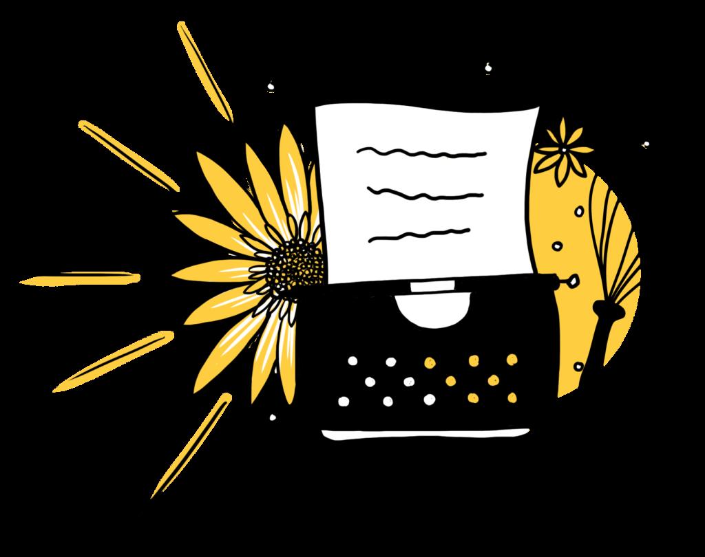Logo-con-trasparenza-1024x810 Un giallo girasole, una torta e una macchina da scrivere
