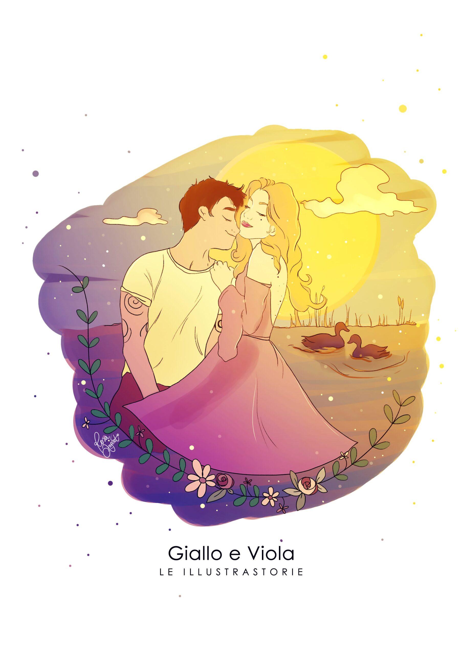 01-Giallo-e-Viola-rid-scaled I colori complementari