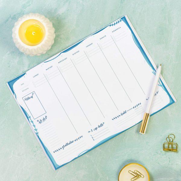 Planner Settimanale A4 | Sogni a Colori